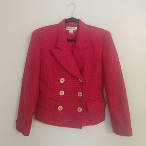 Vintage Christian Dior Blazer Orange/Pink 4